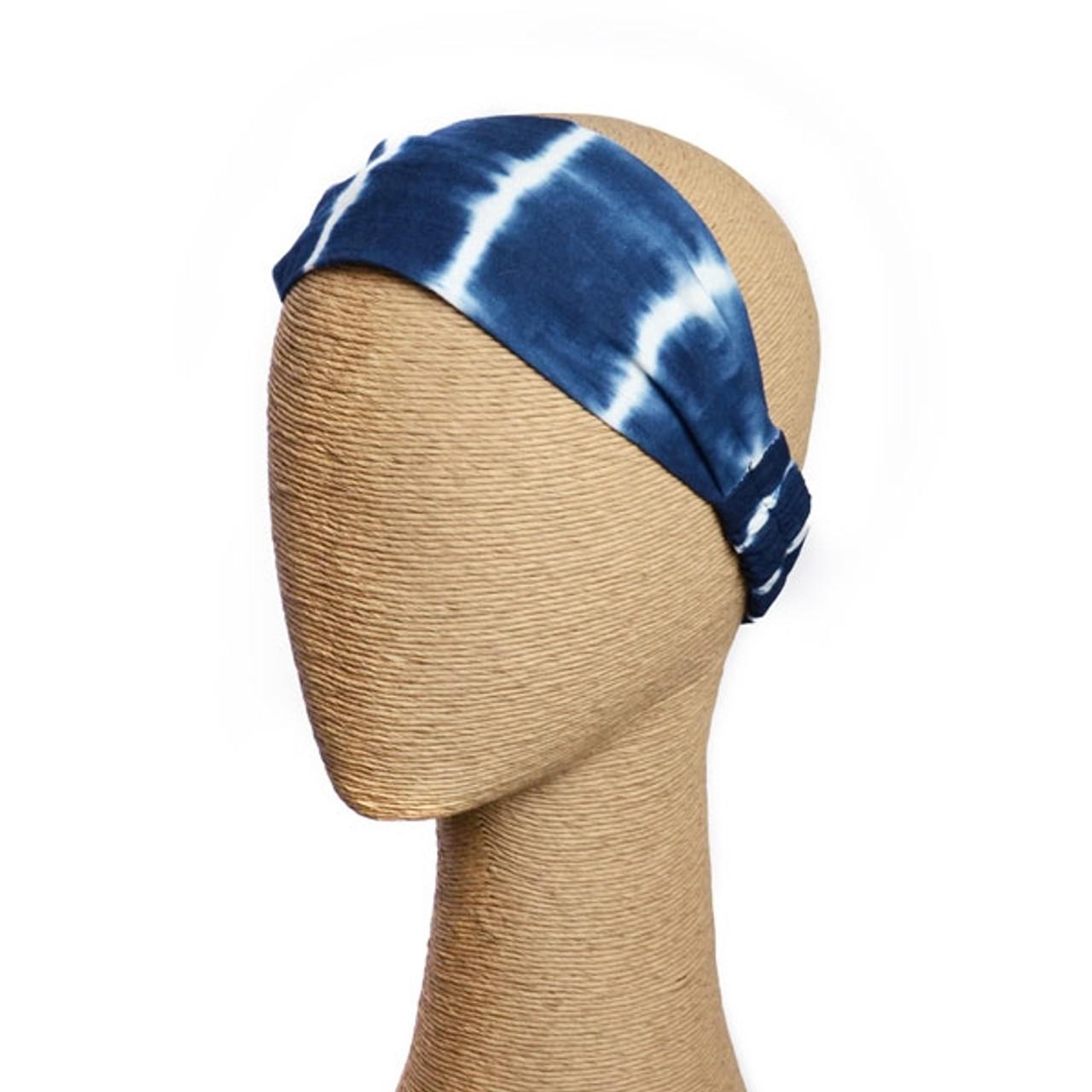 Indigo Tie Dye Headband