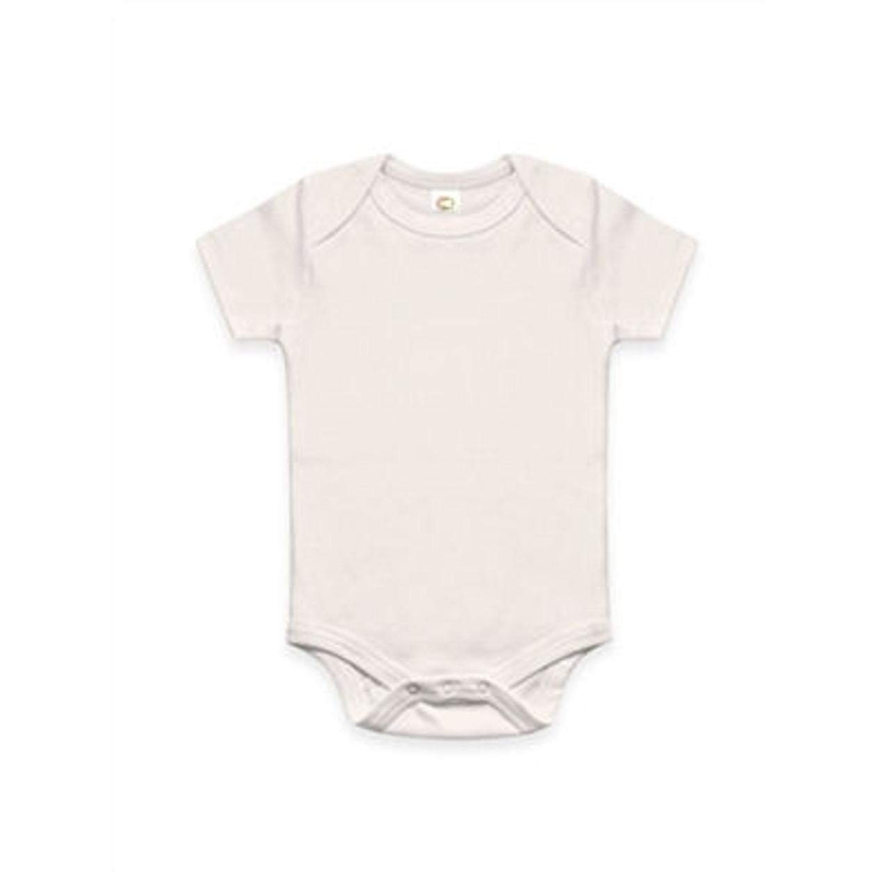Organic Natural Bodysuit - 6-12 months