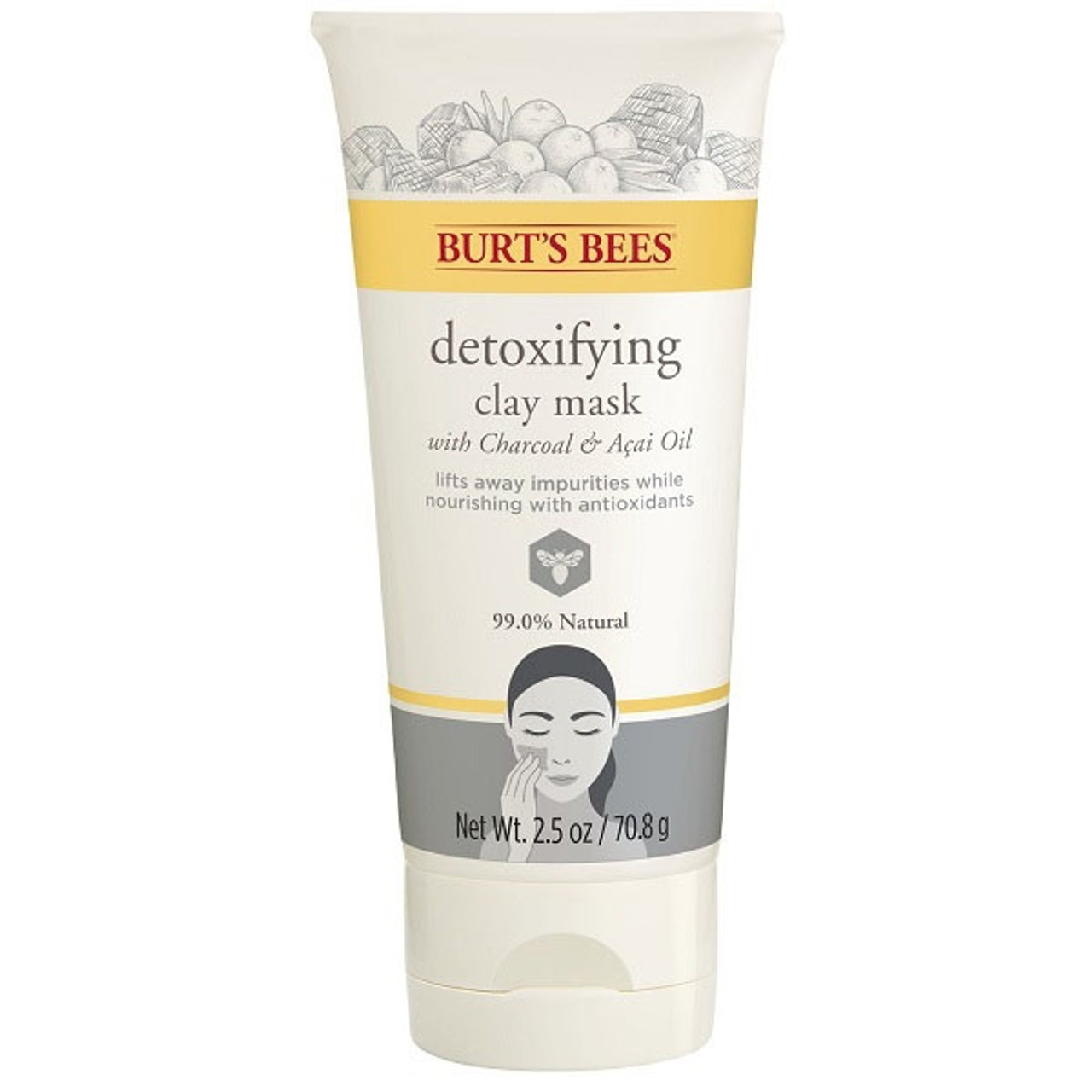 Burt's Bees Detoxifying Chacoral Face Mask