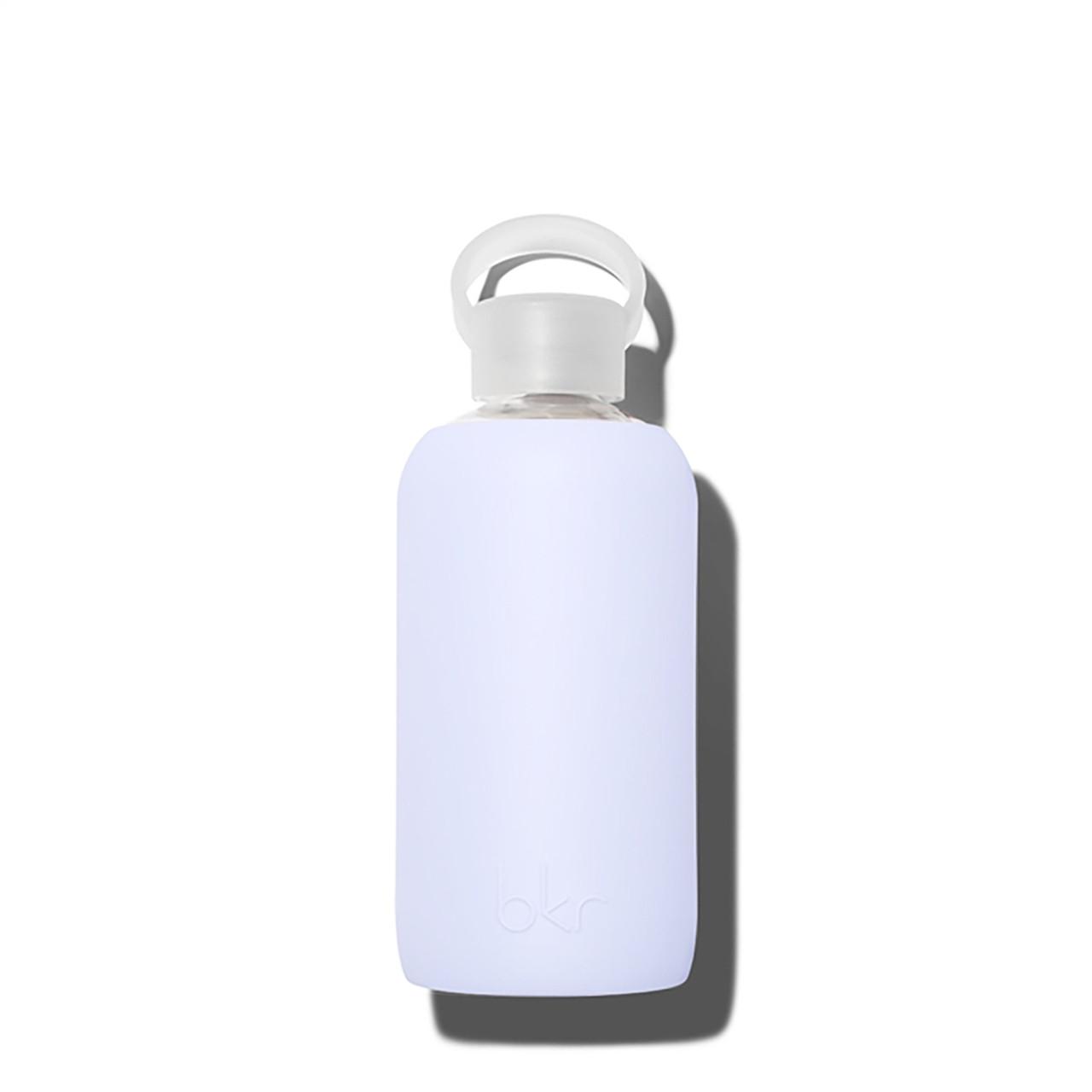 bkr Glass Water Bottle - Sheer Blue 500ml