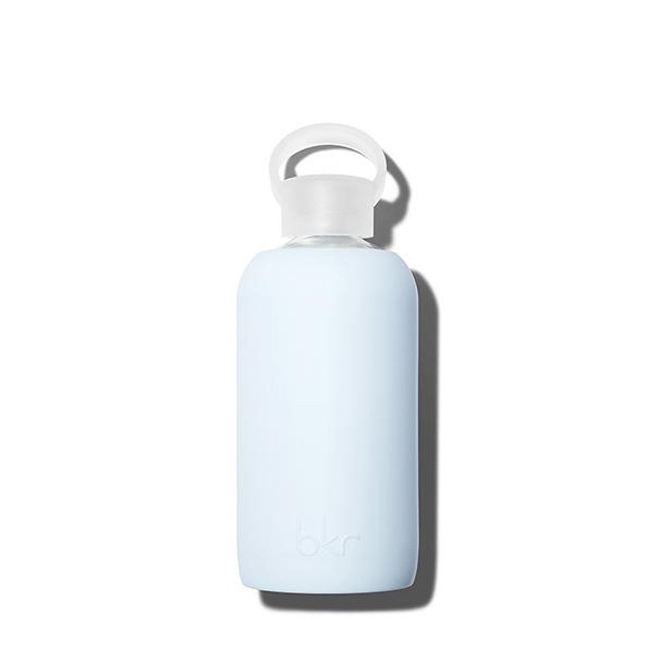 bkr Glass Water Bottle - Sky Blue 500ml