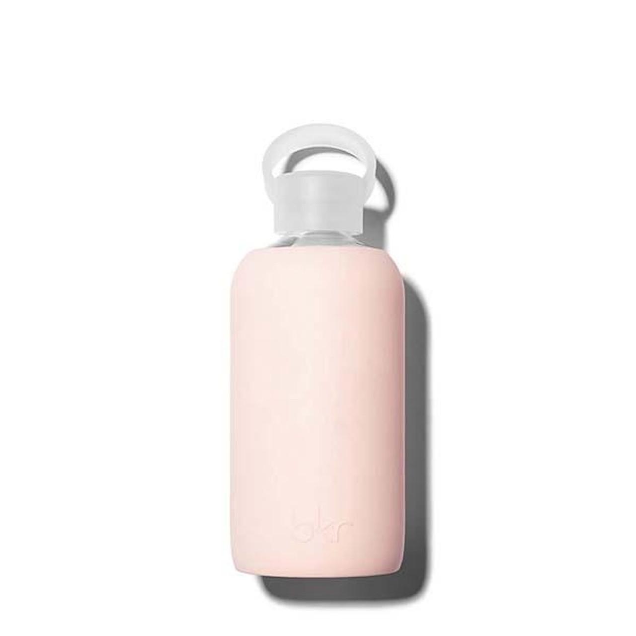 bkr Glass Water Bottle - Pink 500ml