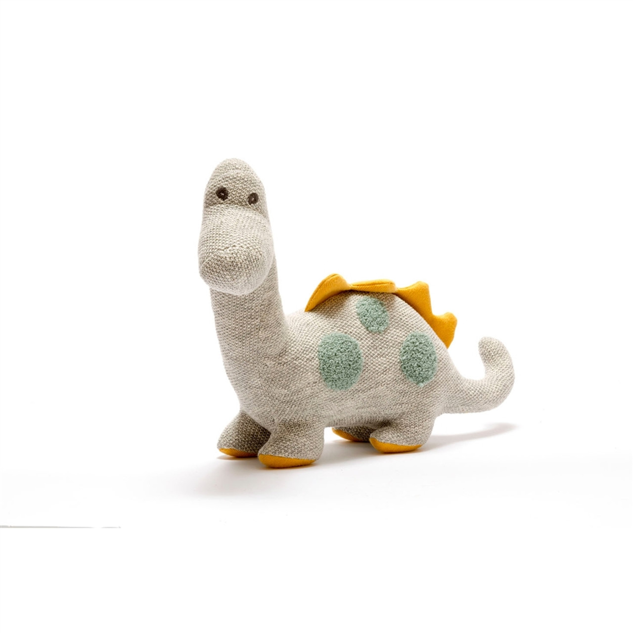 Large Organic Stuffed Dinosaur - Diplodocus