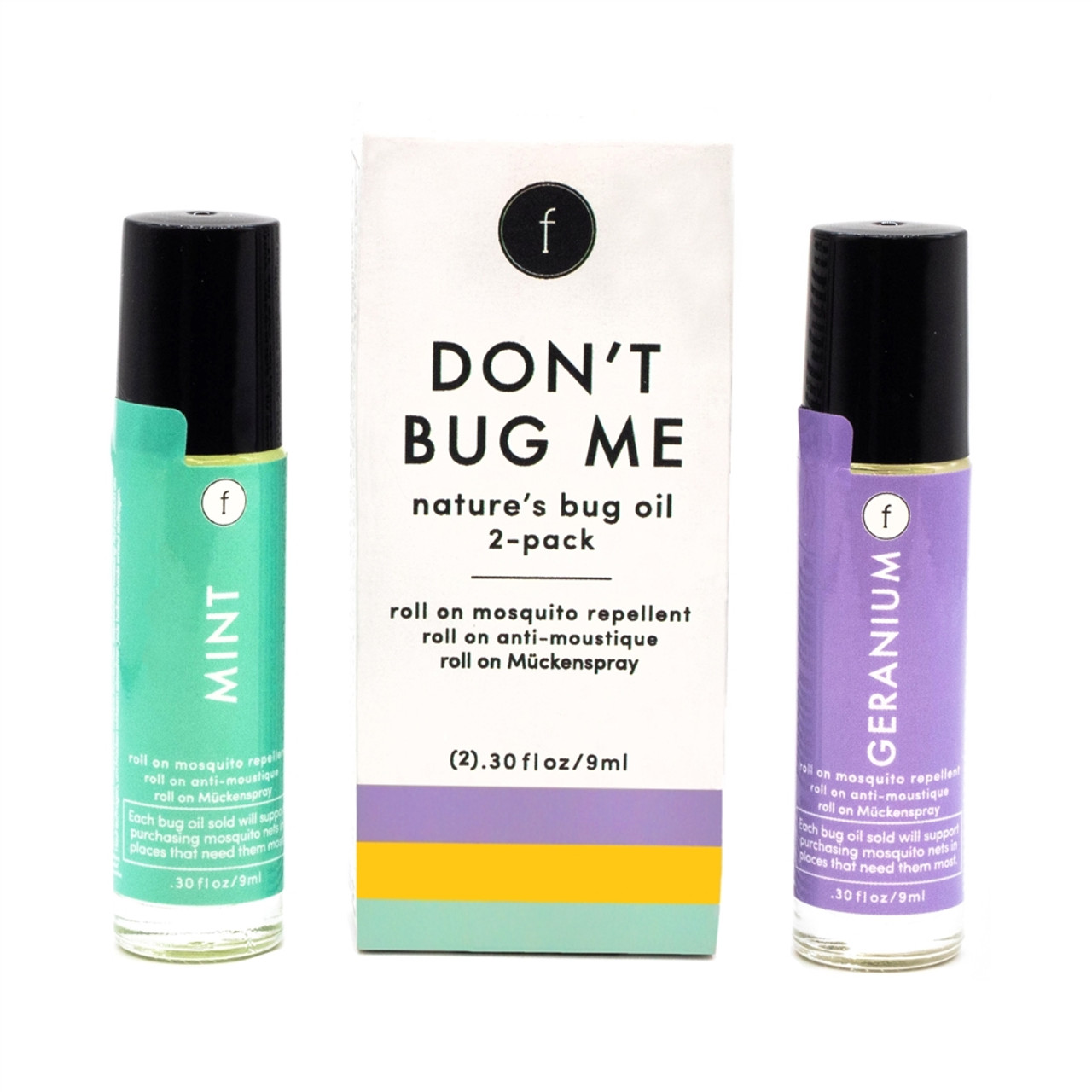 Natural Bug Repellent - Roll On Essential Oils