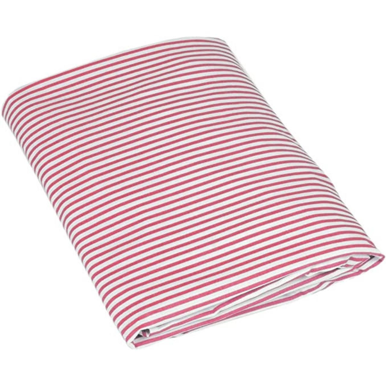 Flink Modern Organic Crib Sheets - Blush Stripe