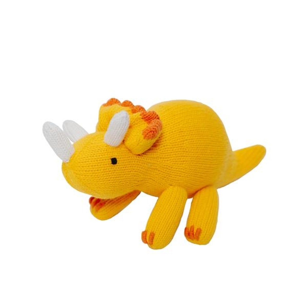 Handmade Dinosaur Toy - Triceratops
