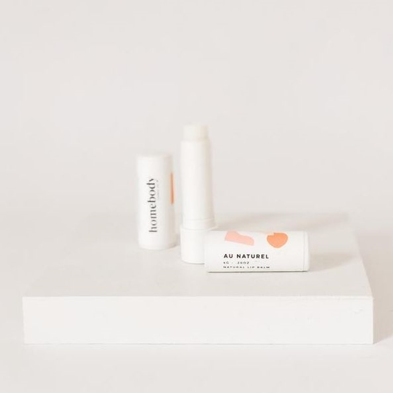 Organic Lip Balm - Au Natural, Unscented