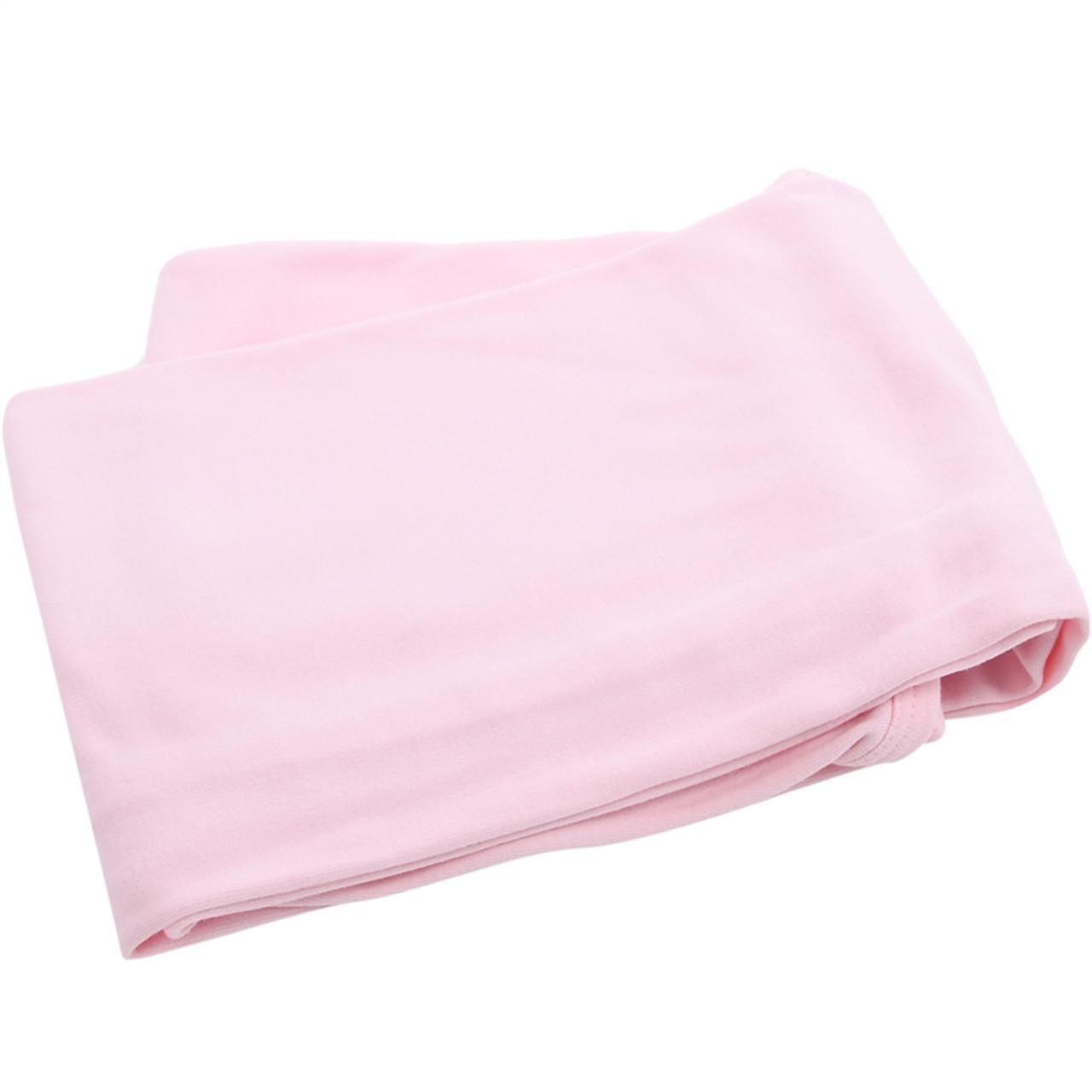 Organic Cotton Baby Blanket - Pink