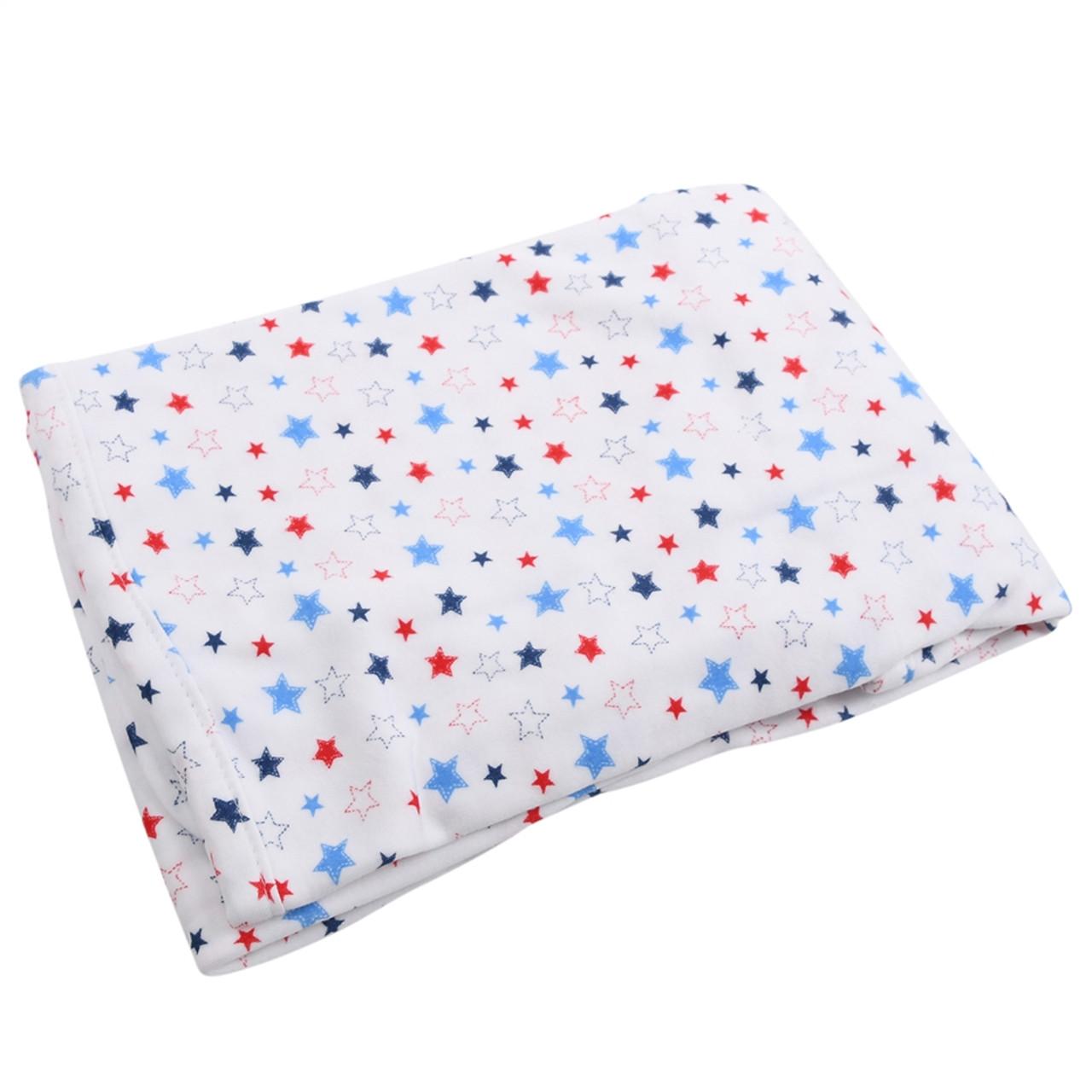 Organic Cotton Baby Swaddle - Stars