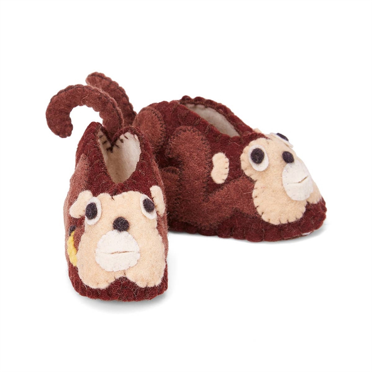 Monkey Baby Booties - 6-12 Months