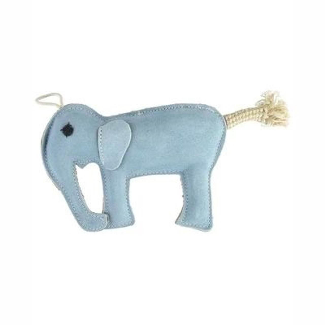 Leather Dog Toys - Elephant