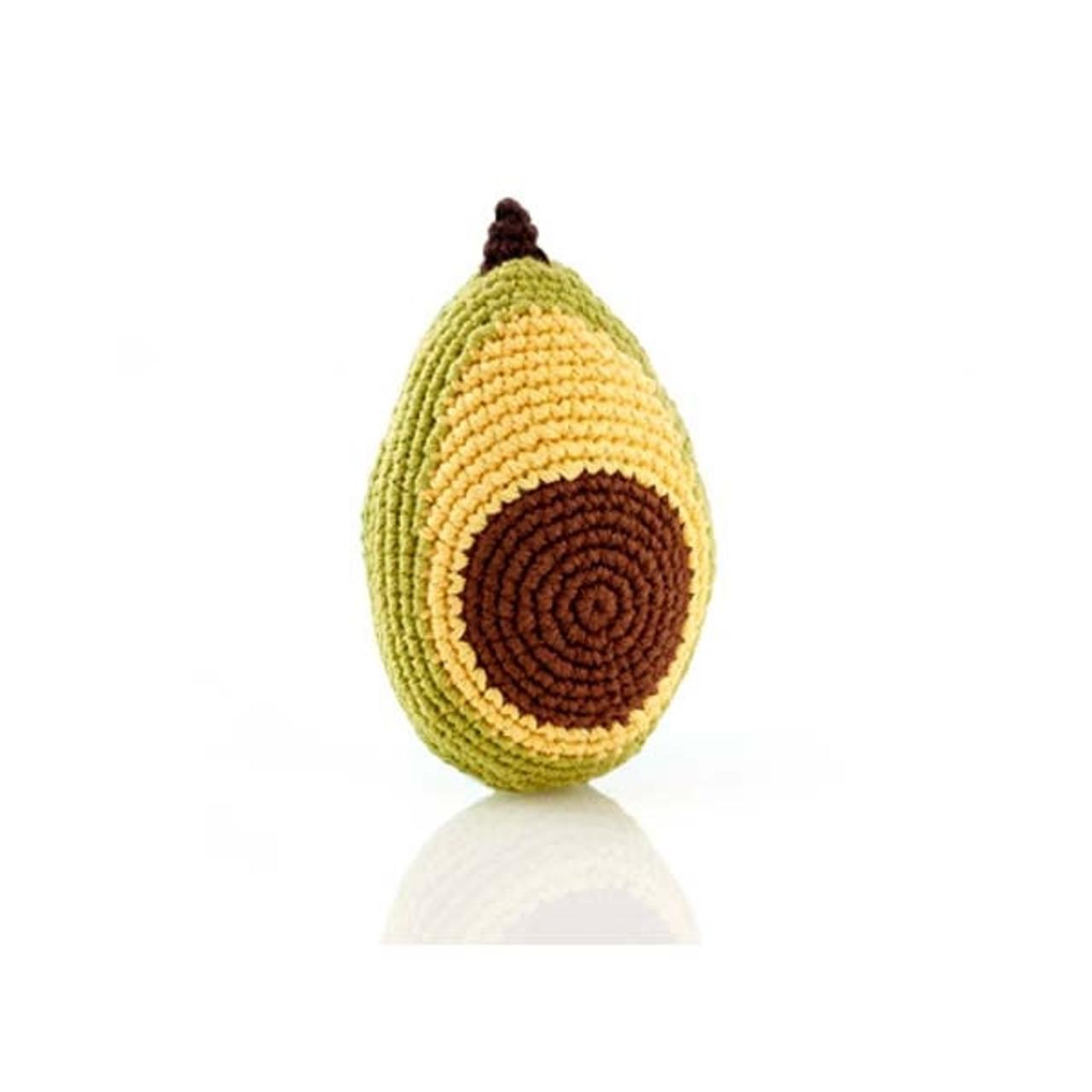 Avocado Baby Rattle