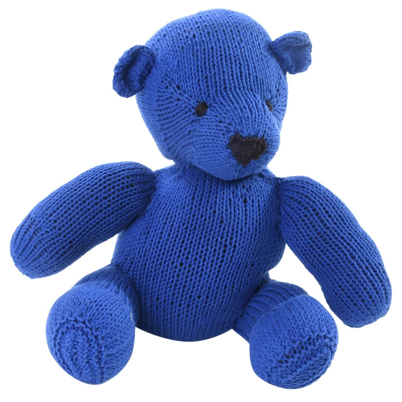 Organic Stuffed Bear - Noah