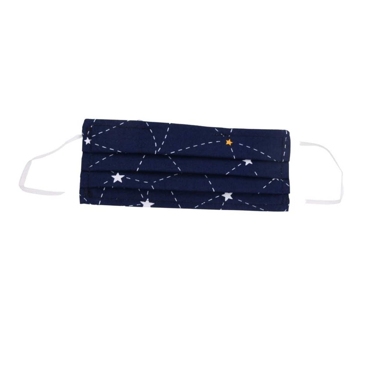 Cotton Face Mask with Filter Pocket - Adults, Starry Sky