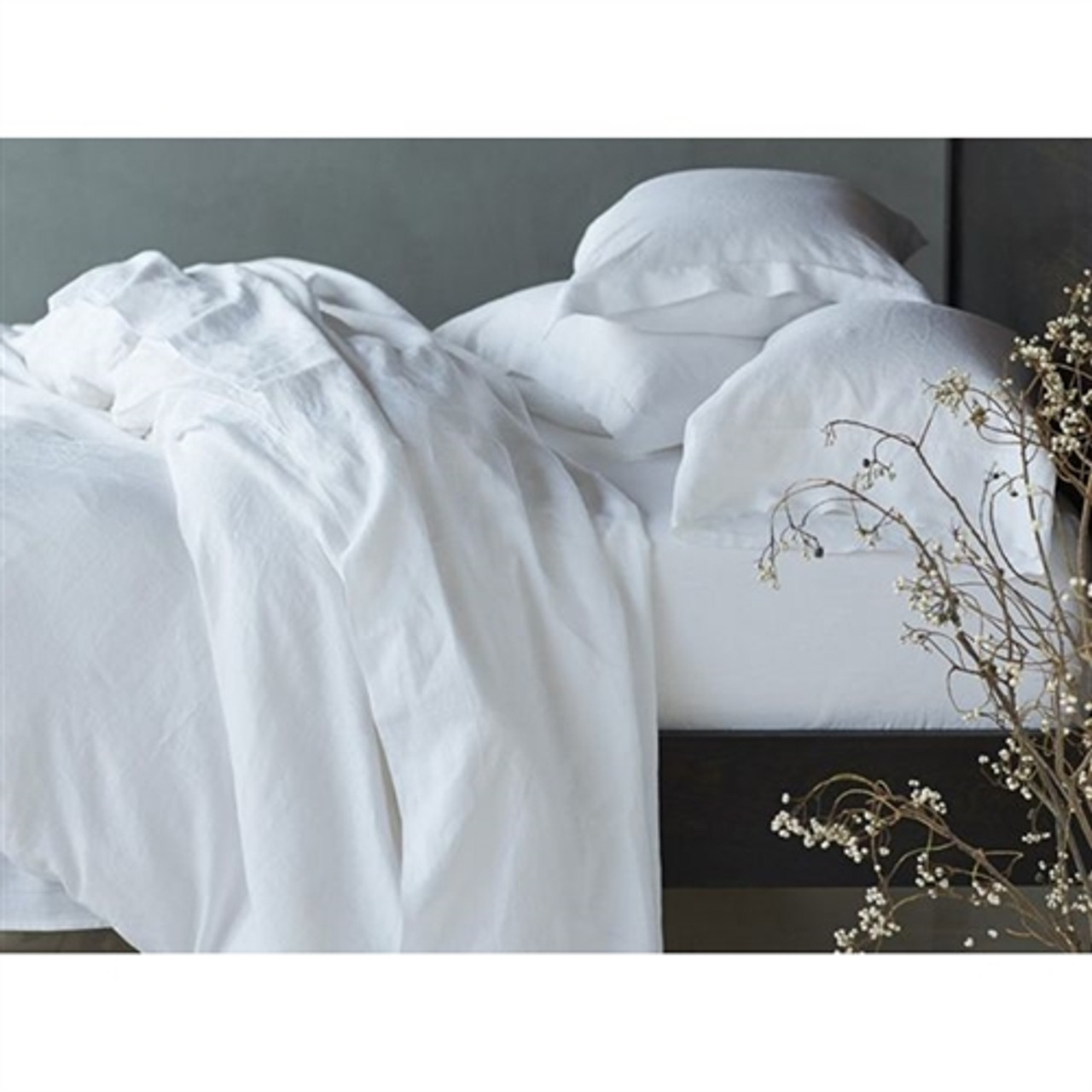 Relaxed  Linen Sheet Set - Assorted Colors and Sizes
