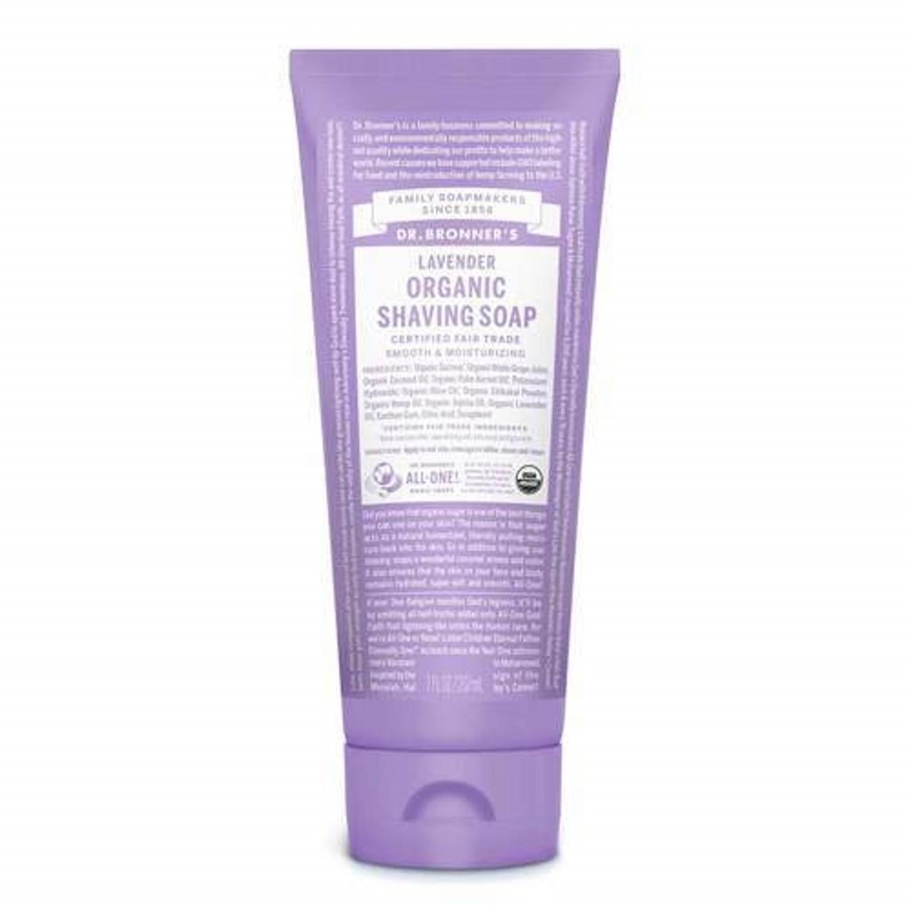 Dr. Bronner's  Organic Shaving Soap - Lavender