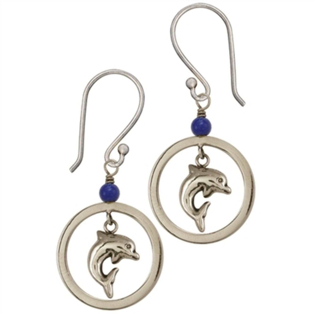 Dolphin Earrings for Tweens
