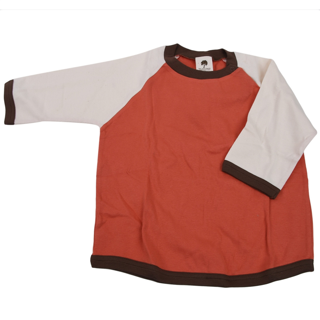Kate Quinn Organic Toddler Clothes - Orange 4t