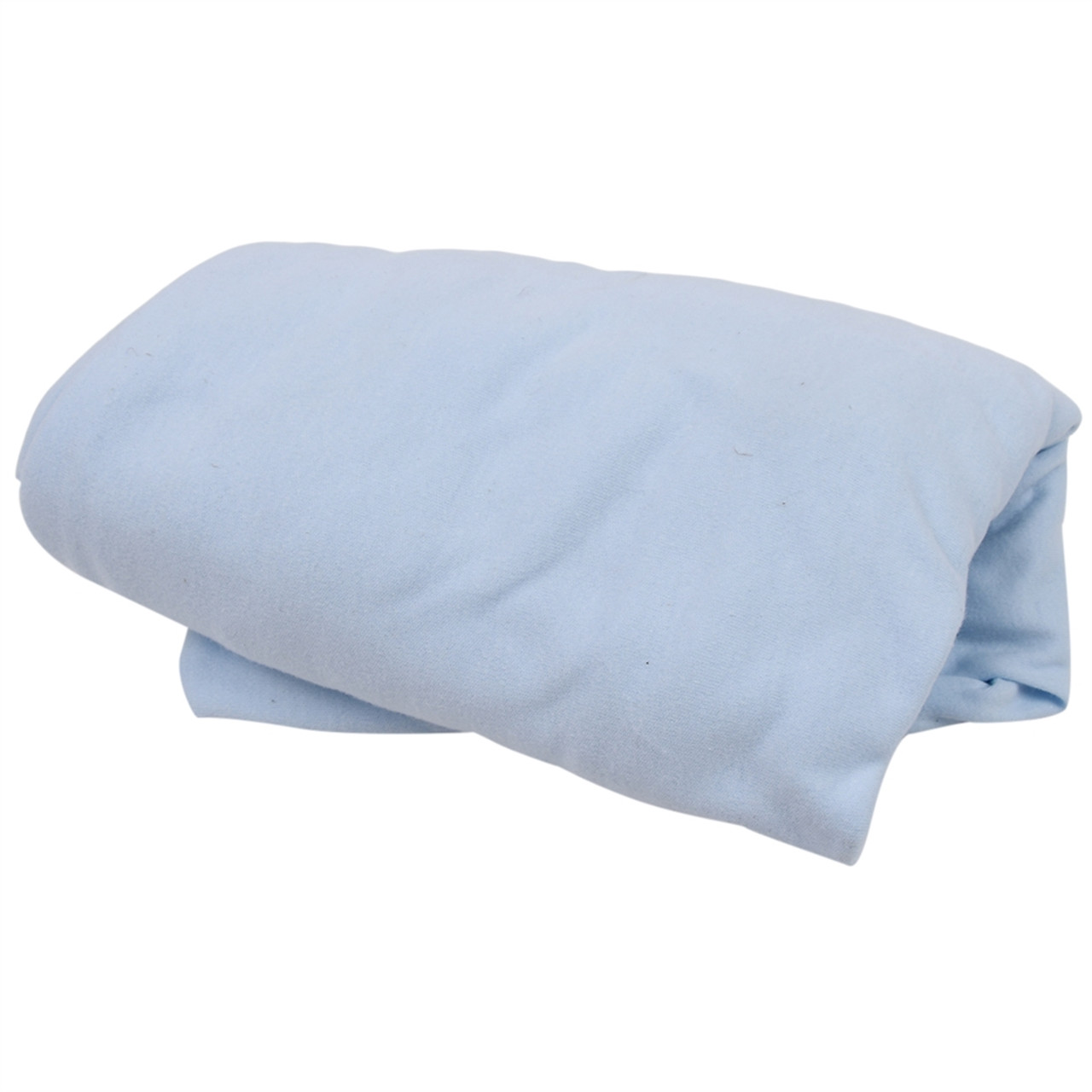 Made in the USA - Organic Crib Sheets - Blue