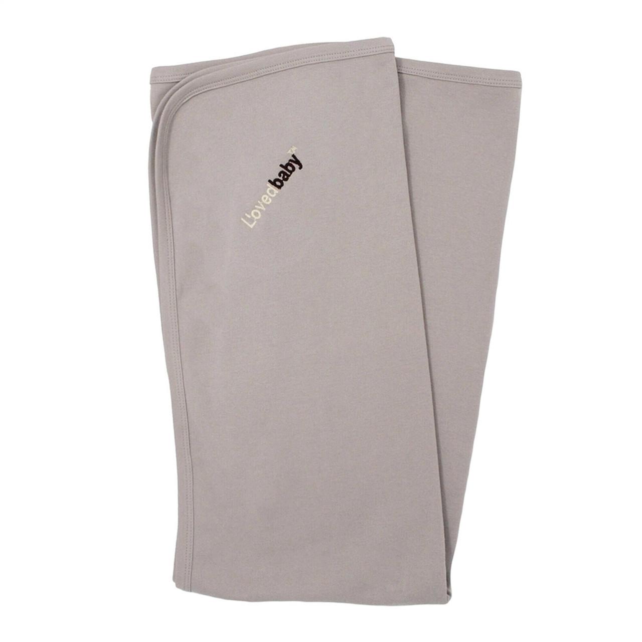 Organic Baby Blankets - Solid Grey