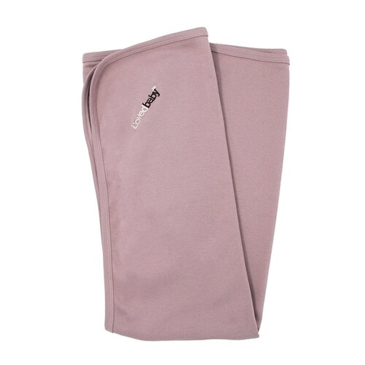 Organic Baby Blanket - Mauve