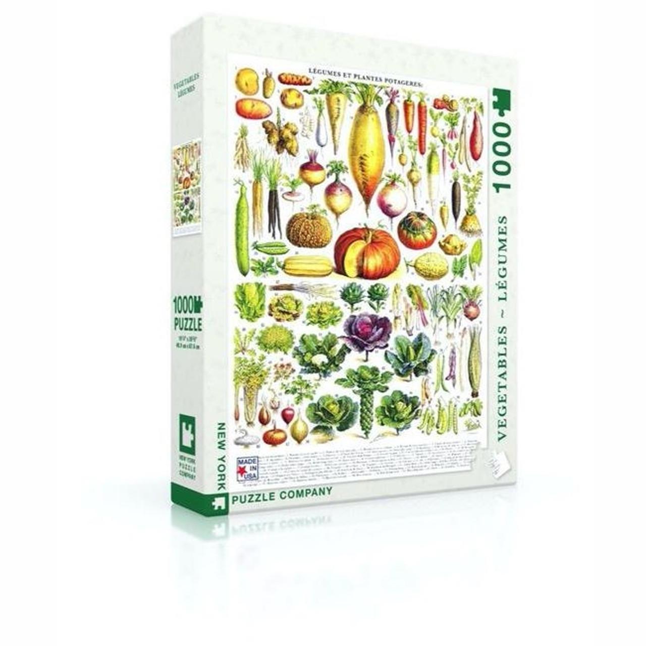 Puzzle - Vegetables - 1000 pieces