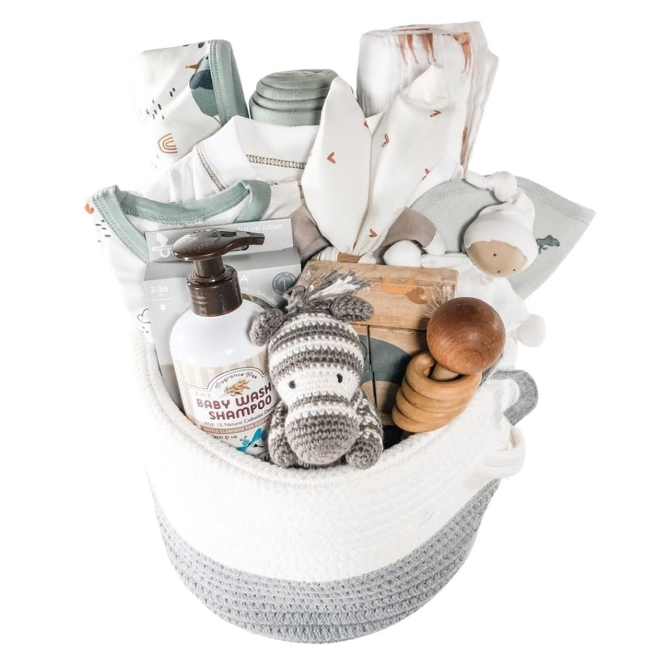 Twin Baby Gift Baskets - Double the Love