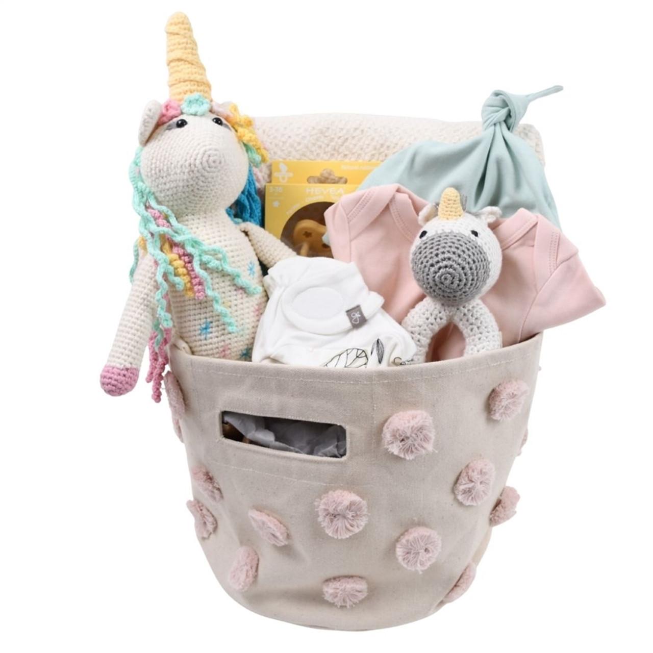 Unicorn Baby Gift Basket - Dream Squad