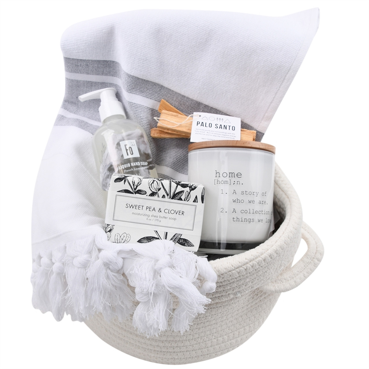 Housewarming Gift Basket - Home Sweet Home