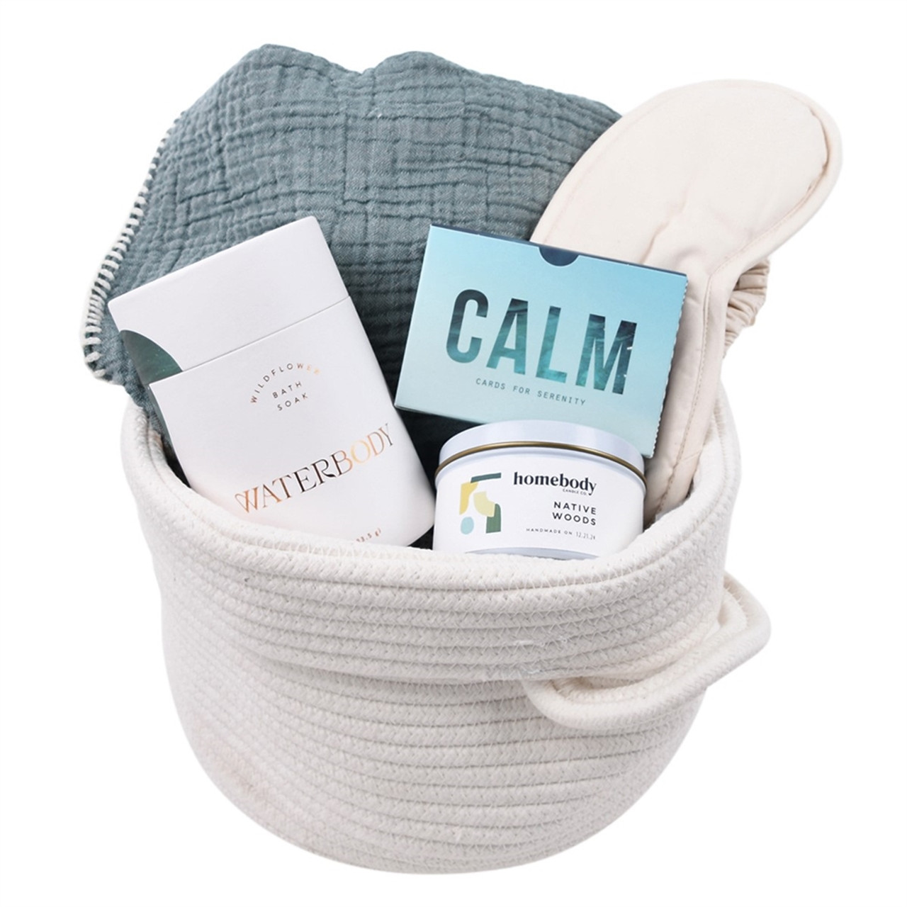 Self Care Gift Basket - Spa - Just Be