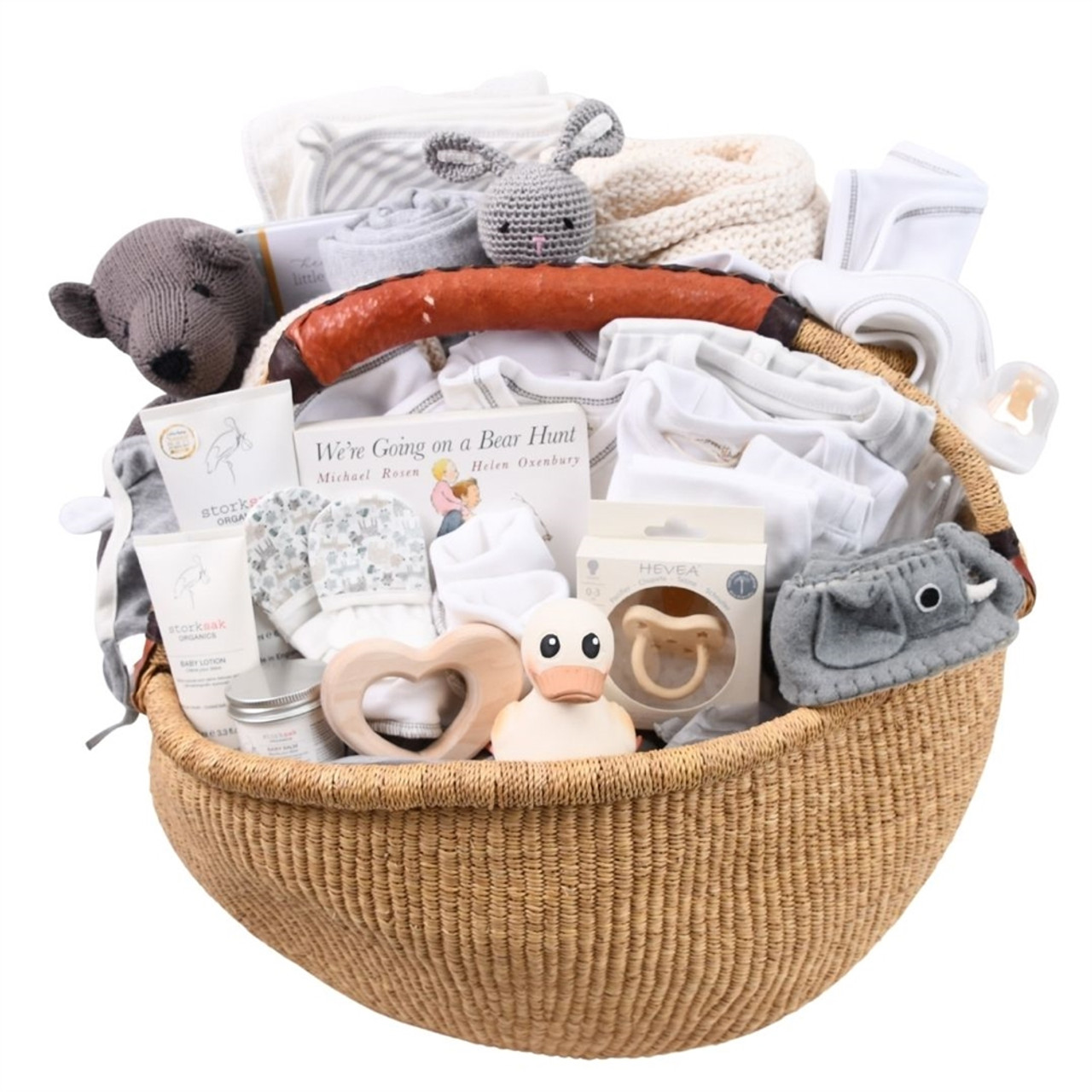 Upscale Baby Gift Basket Deluxe - All the Best!