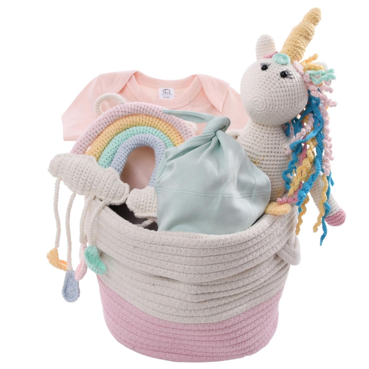 Unicorn Baby Gift Basket - Magical