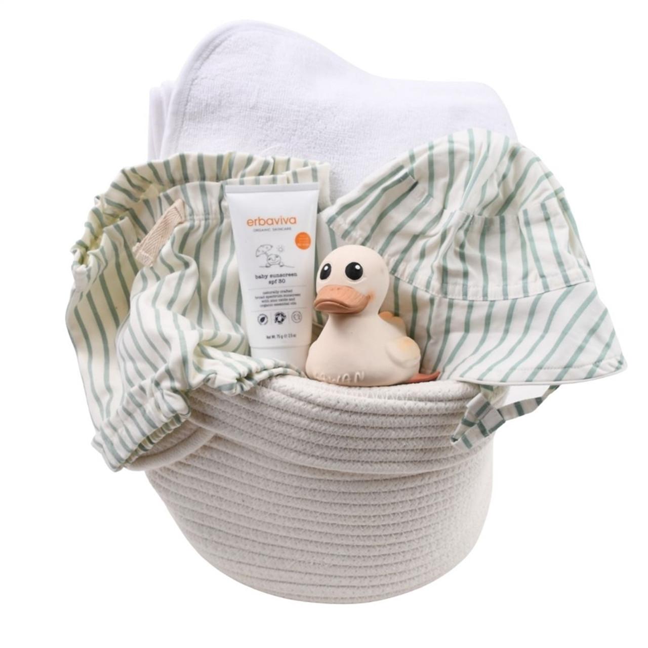Beach Baby Gift Basket - Make Waves