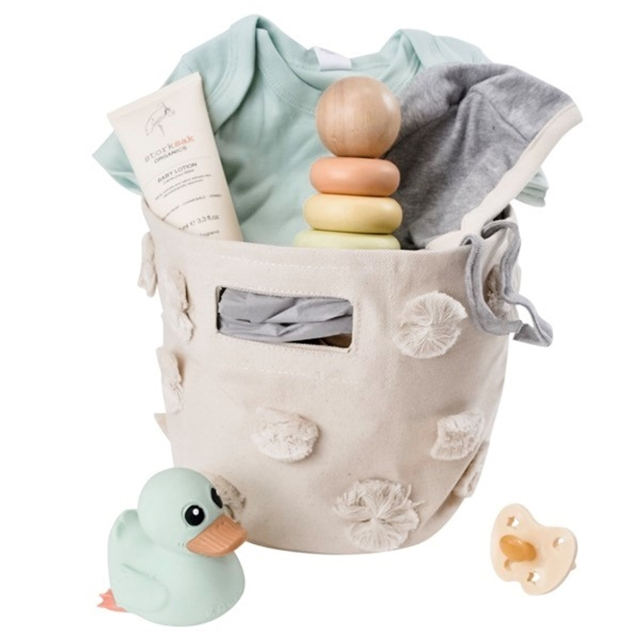 Organic Baby Gift Baskets - Sweet Mint