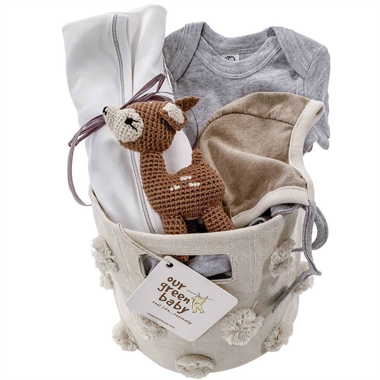 Baby Gift Basket - Oh, Deer