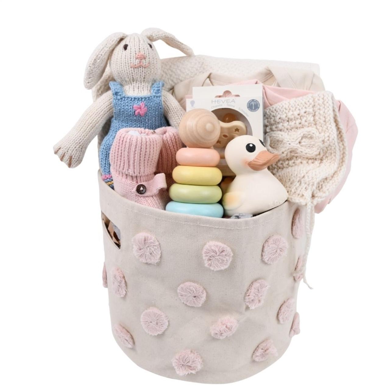 Baby Gift Basket - Playful Pastels