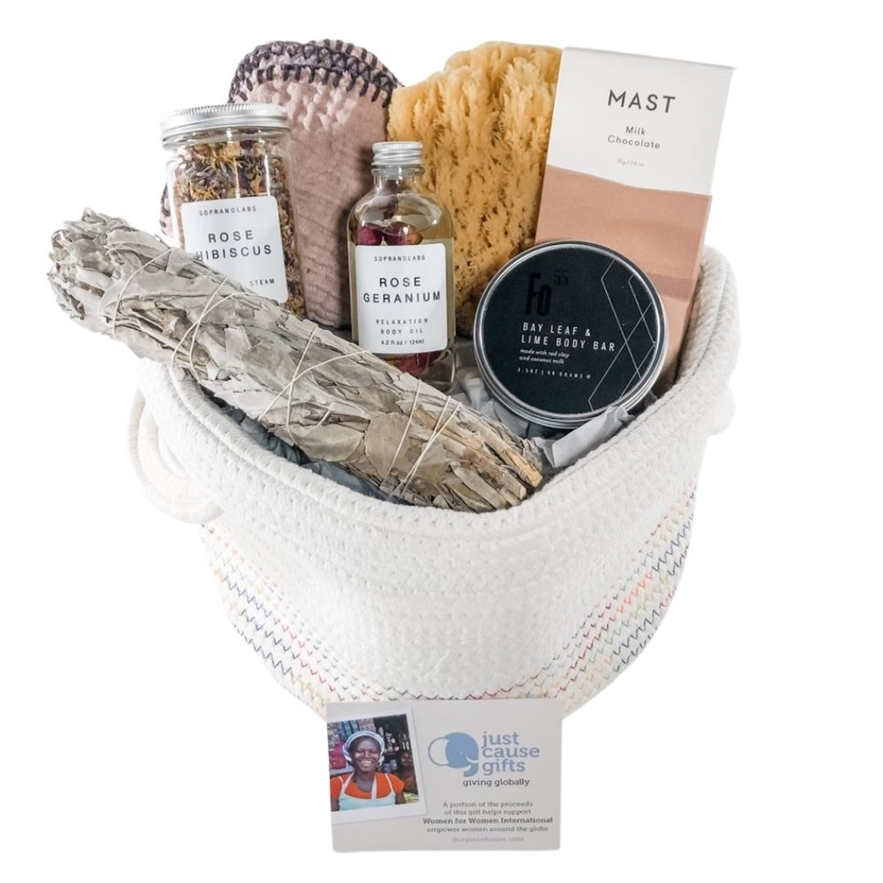 Uplifting Gift Basket for Her - Rosy Outlook