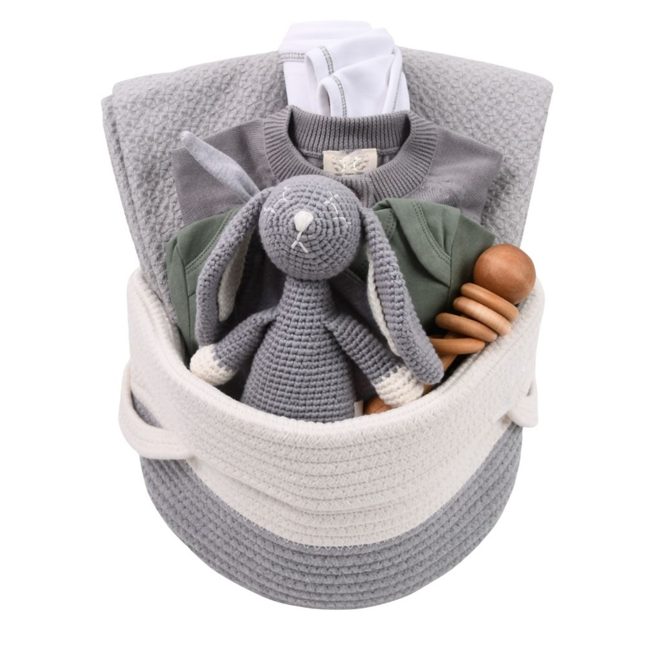 High End Baby Gifts - Sage & Grey