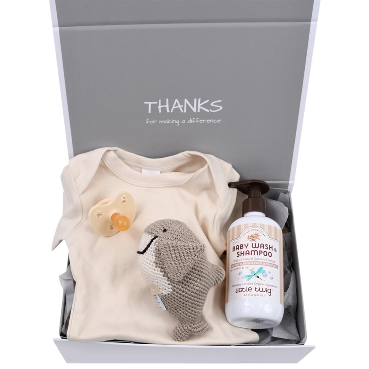 Organic Gift Box - Baby Shark