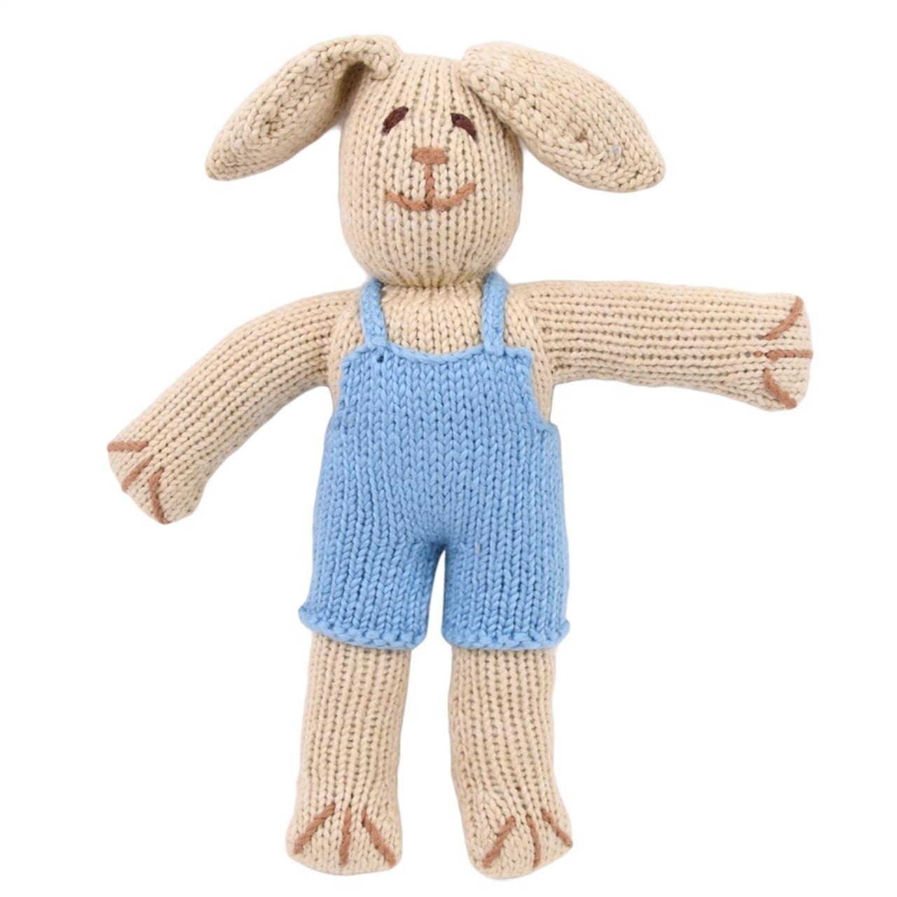 Organic Stuffed Bunny - Thistle Rabbit