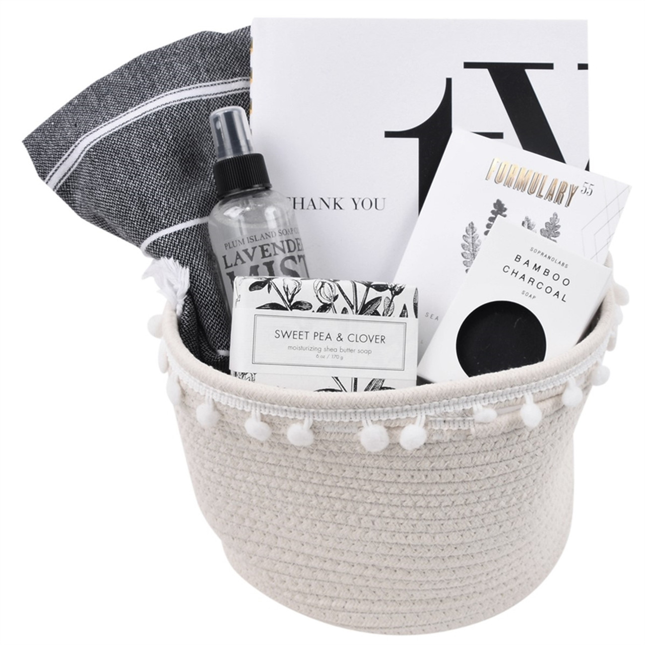 Thank You Gift Basket for Her - Thx