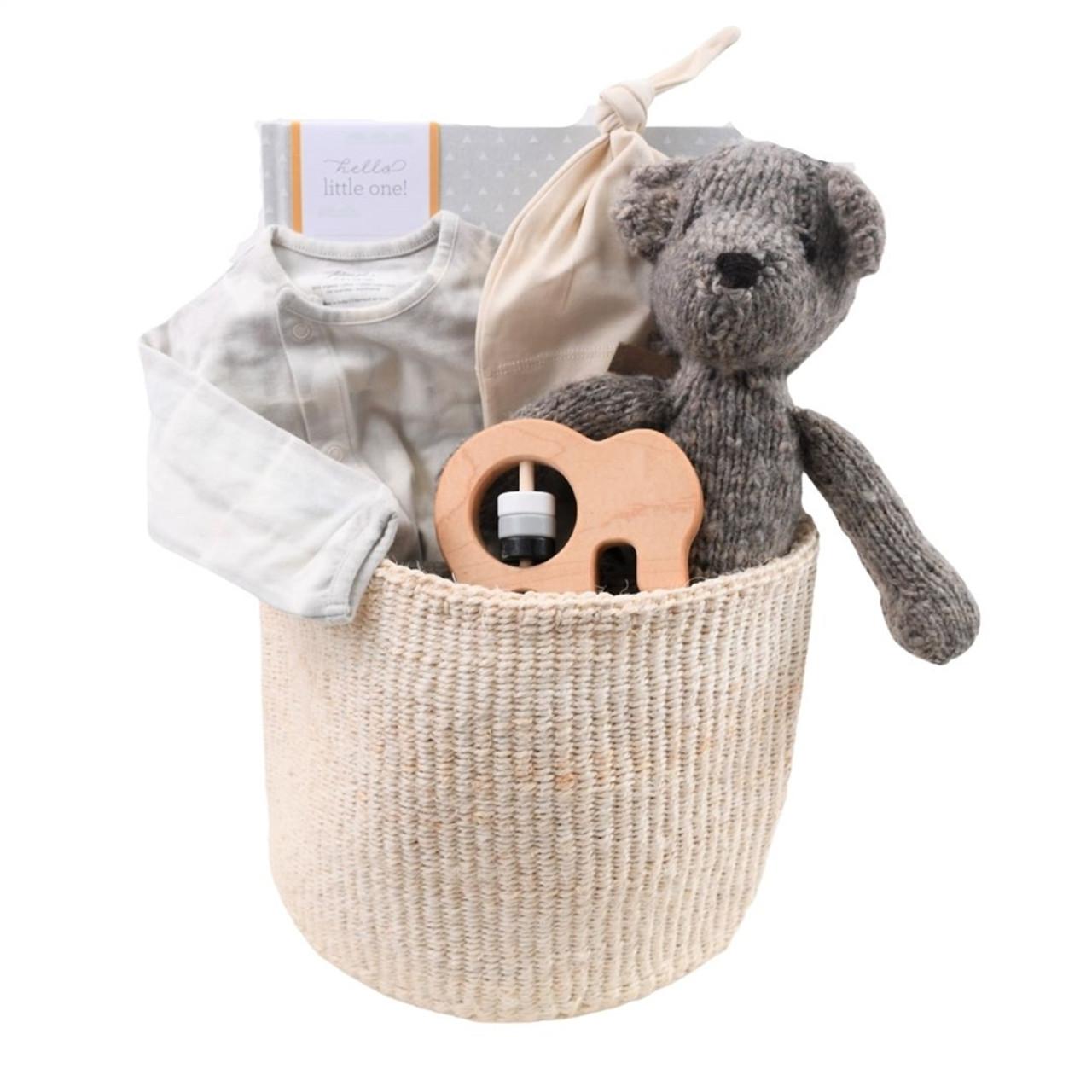 Baby's Keepsake Gift Basket - Timeless Treasures