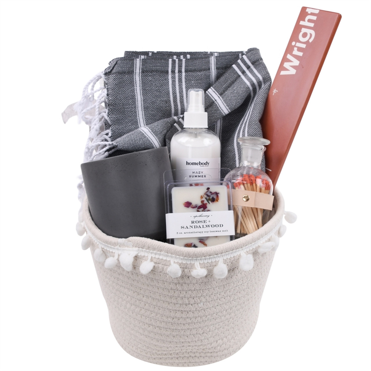 Wellness Gift Basket for Women Spa - Tranquility