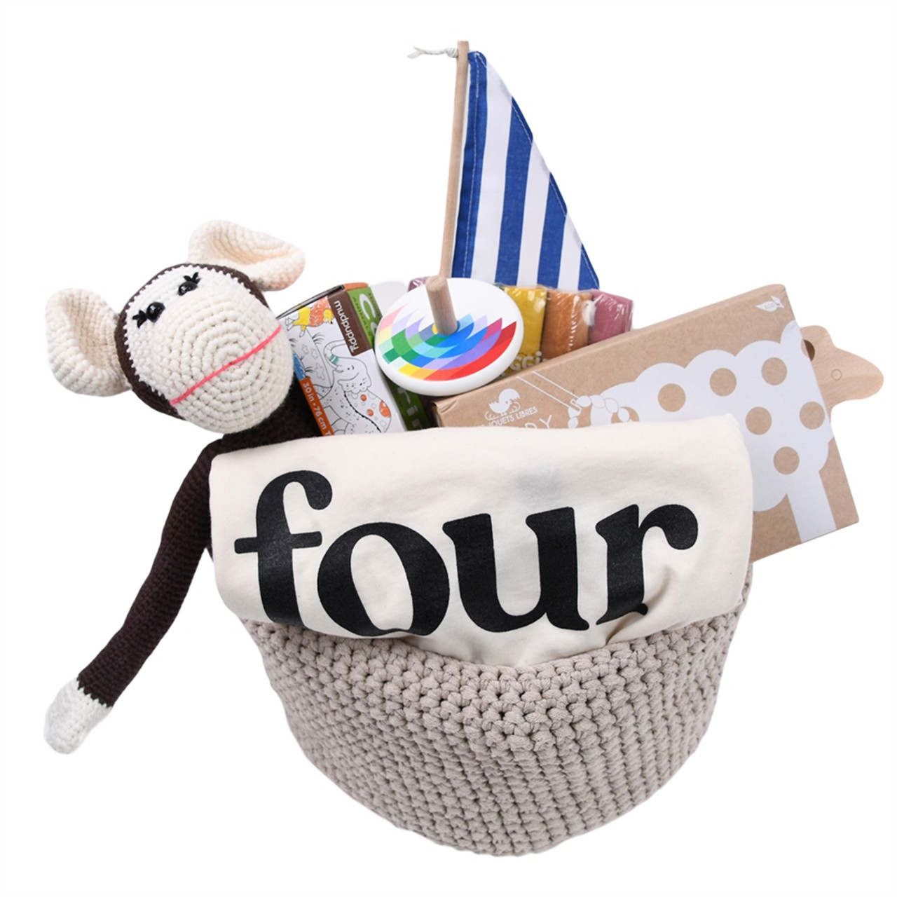 Gift Basket for 4 Year Old - All Four You