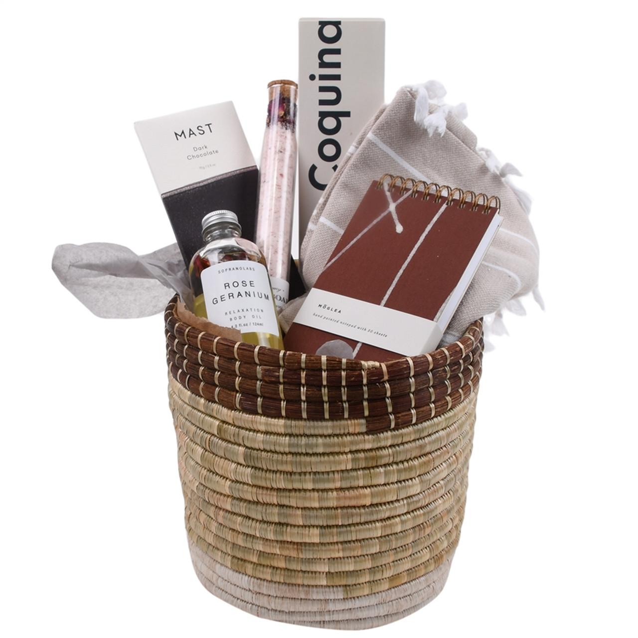 Thinking of You Gift Basket - Unwind