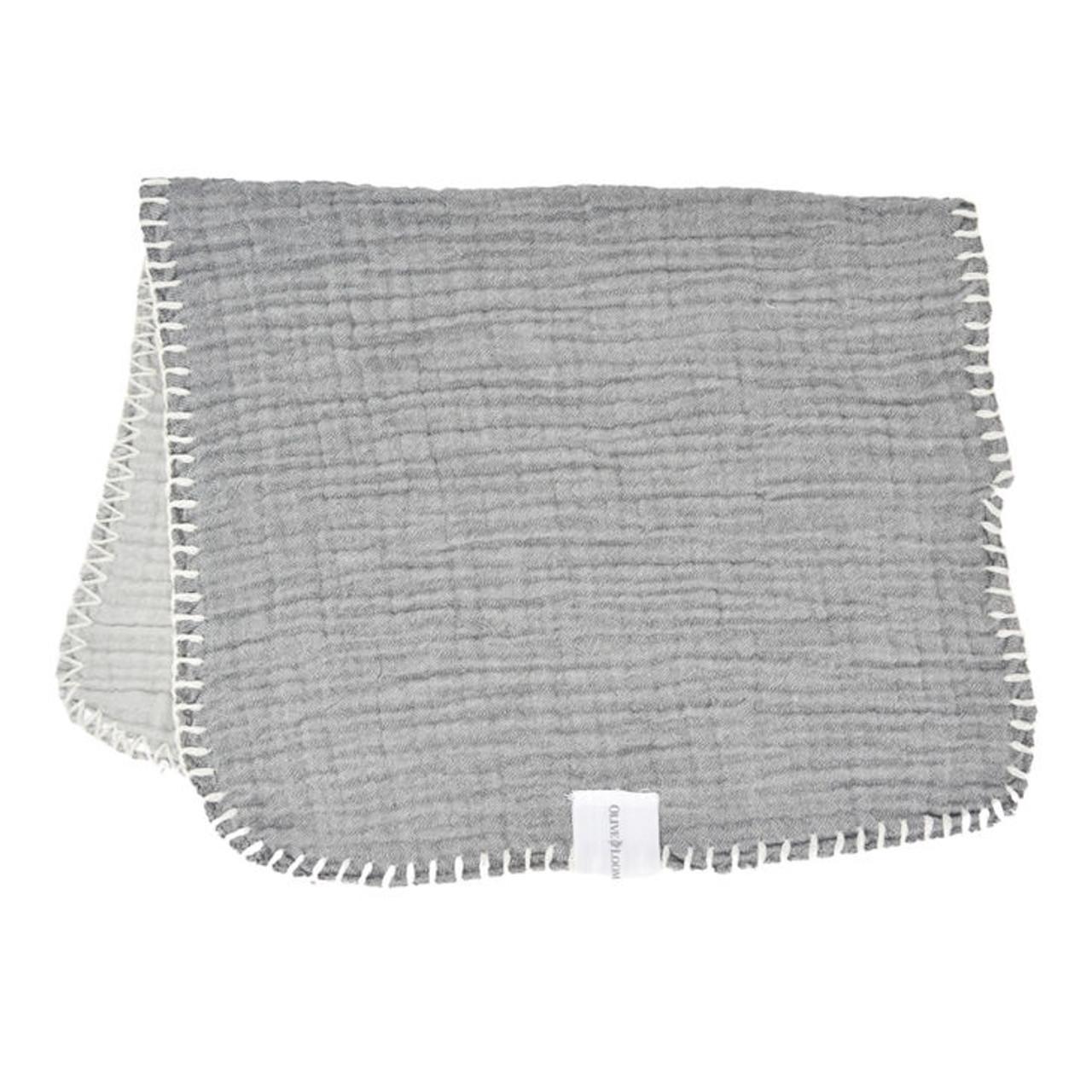 Super Soft Turkish Face Cloth - Grey