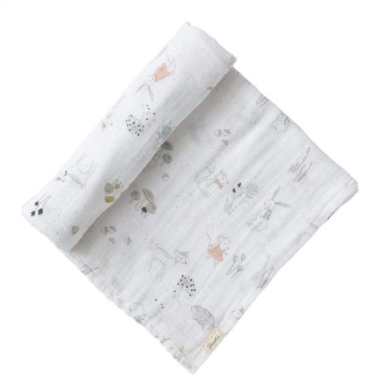Organic Muslin Swaddle - Magical Forest