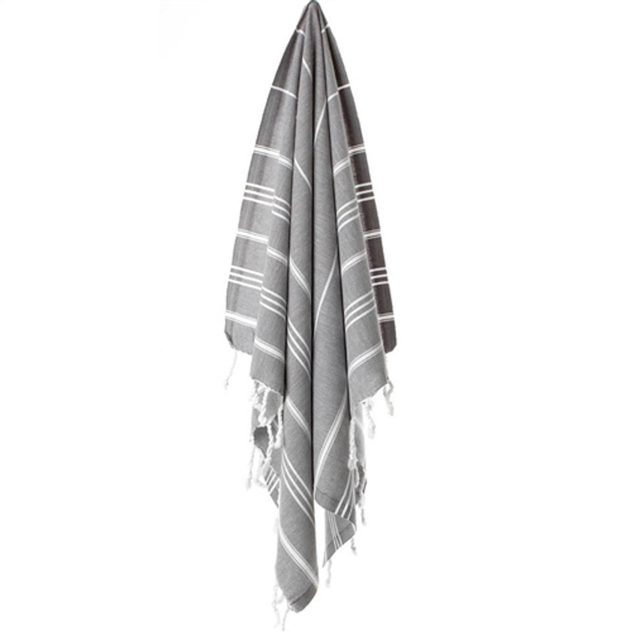 Turkish Kitchen/Hand Towel - River Rock