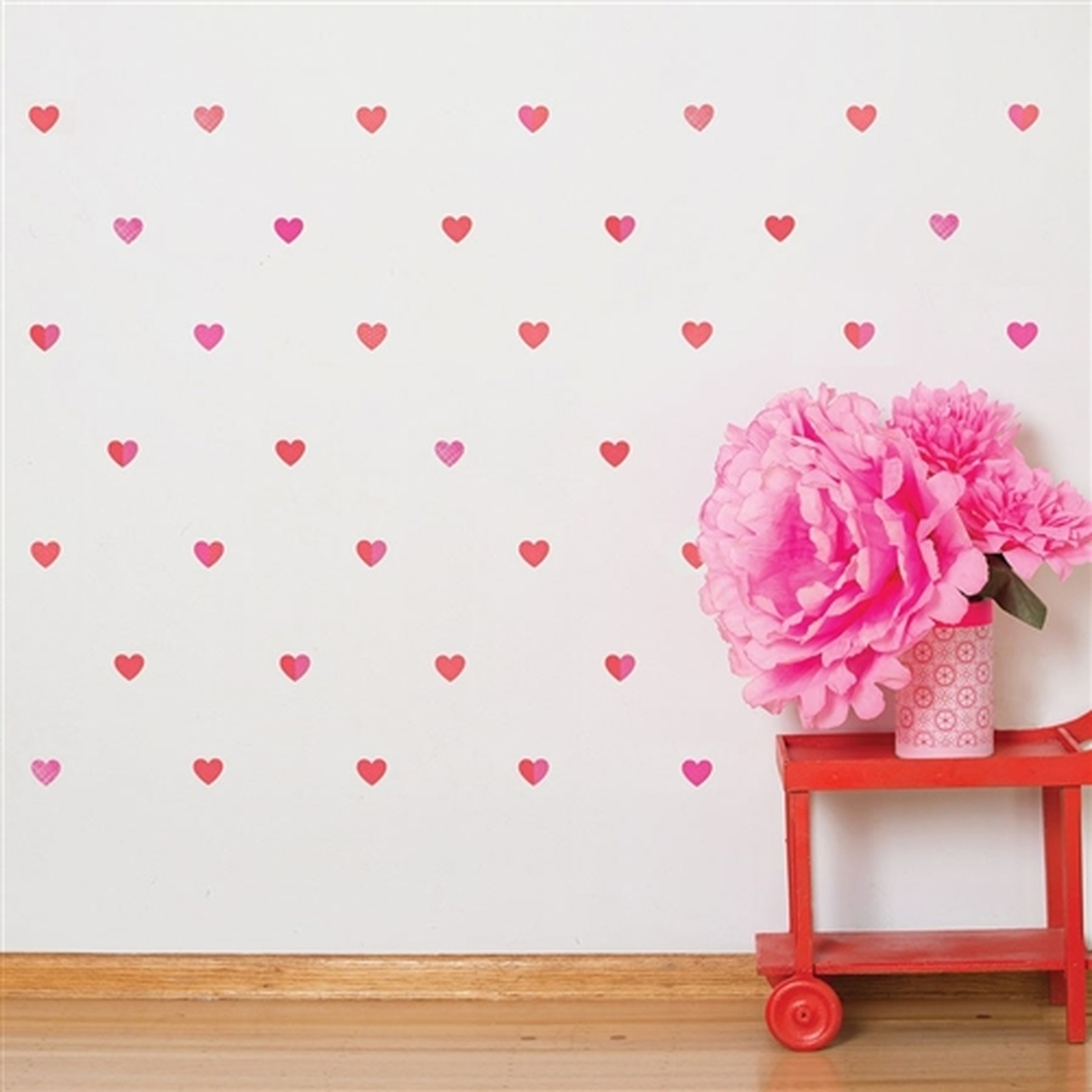 Removable Wall Decals For Nursery  Petit Hearts