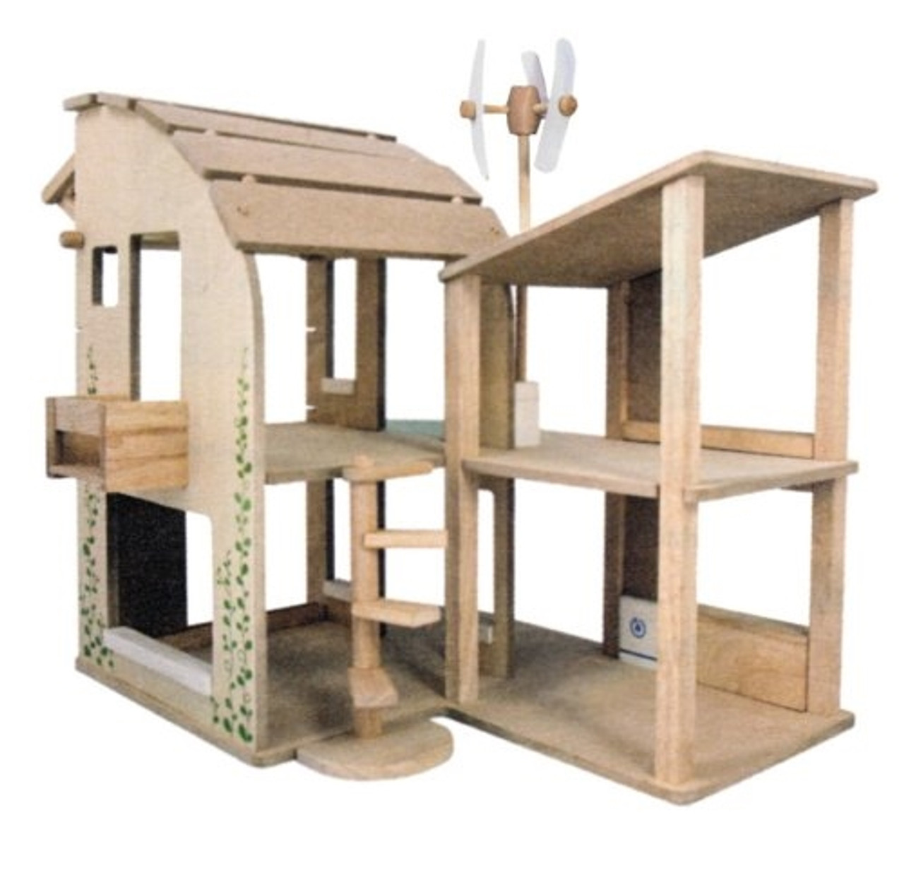 Wooden Dollhouse - Eco-Design